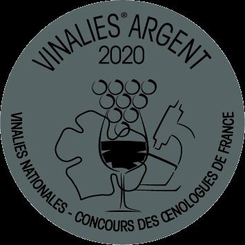 Medaille argent Vinalies 2020 Cr Blanc 2019